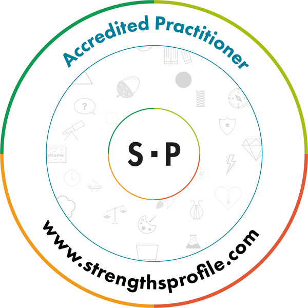 Logo Capp Strengths Profile Accredited Practitioner